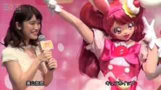 テレビアニメ『キラキラ☆プリキュアアラモード』記者会見が2017年2月1日...
