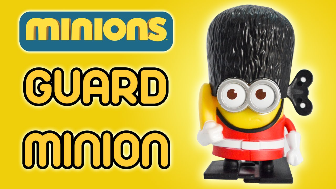 guard minion minions movie 2015 mcdonald s happy meal toy review guard minion minions movie 2015 mcdonald s happy meal toy review by ilovethistoy