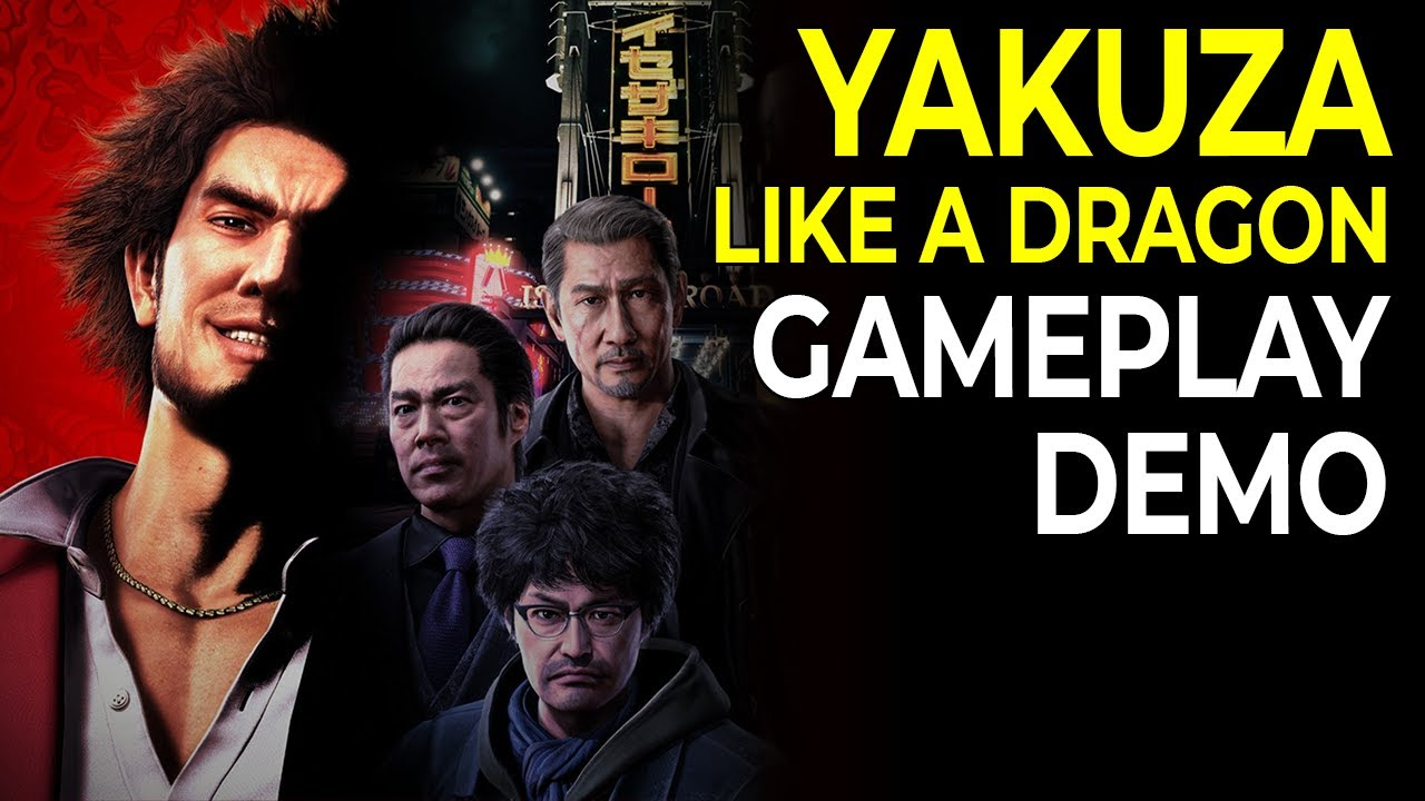 Yakuza 7 Yakuza Like A Dragon Gameplay Demo Youtube