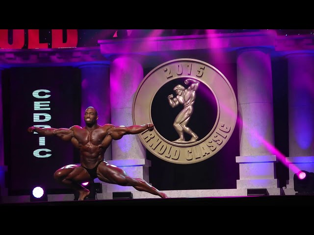 2015 Arnolds Classic - Cedric McMillan, Posing, Men's Bodybuilding Open.