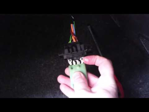 Fiat Punto Grande Heater Resistor Problems Fix Or Replace....  How To