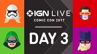 San Diego Comic Con 2017: Exclusive Access & Interviews - IGN Live (7/22 Part 2) thumbnail