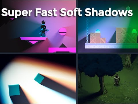 Unity Asset Store Pack - Realistic 2D Soft Shadows Effect Plugin (Download link in description)