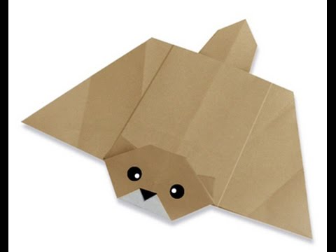 How To Make Origami Flying Squirrel