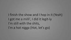 DaBaby - BOP on Broadway (Lyrics on the screen)