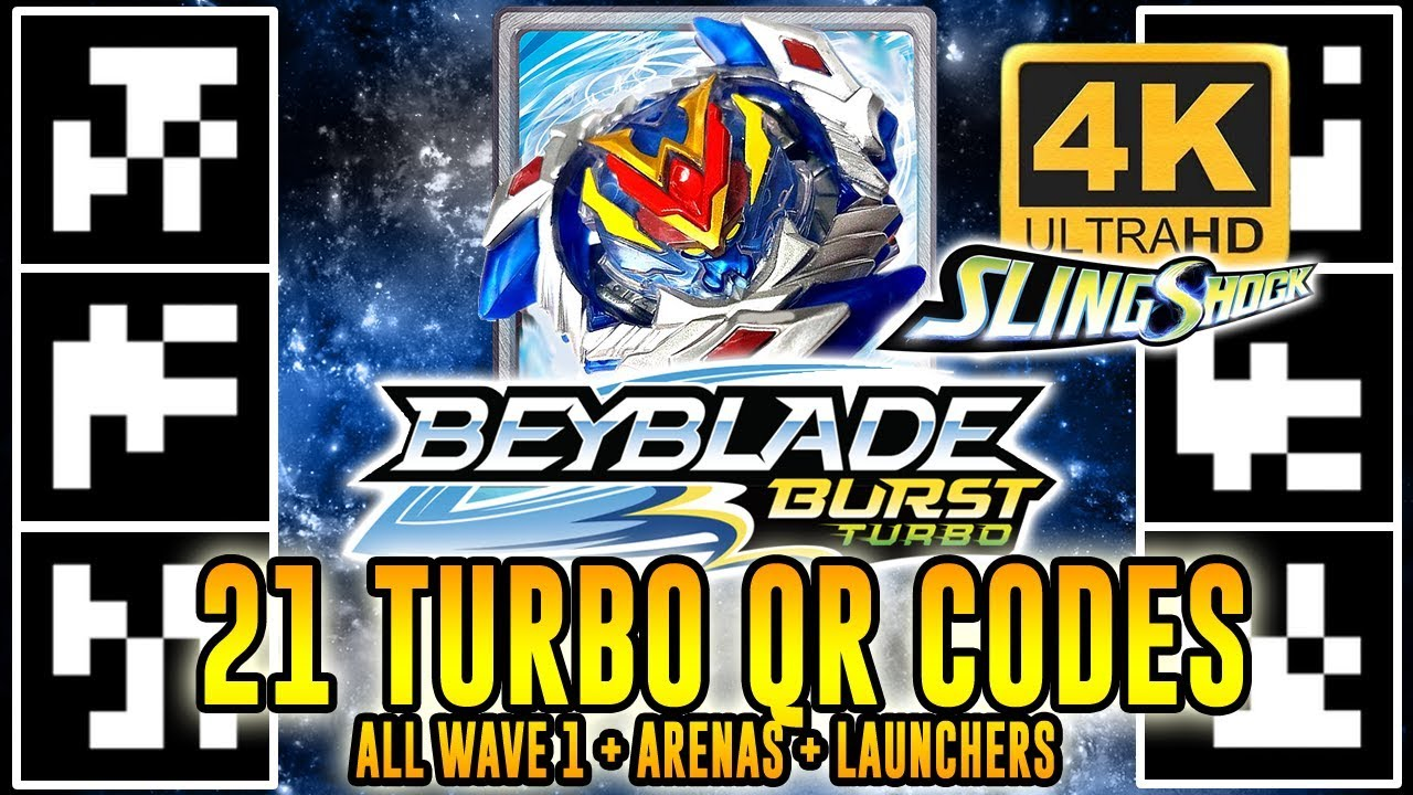 qr code beyblade burst turbo rare