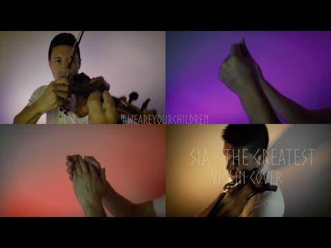 Sia - The Greatest (violin cover) | David Fertello