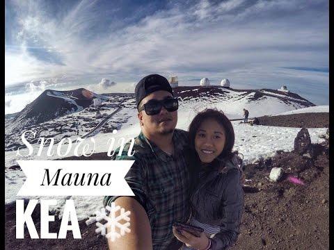 Mauna Kea - Hawaii Snow