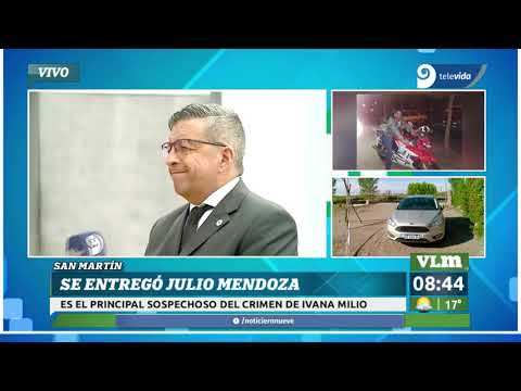 San Martín: Se entregó Julio Mendoza