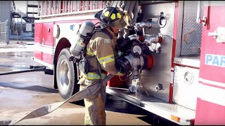 In the Classroom: Firefighting Class - Community College of Aurora