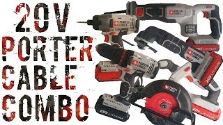 Porter Cable 20v Max Combo Review