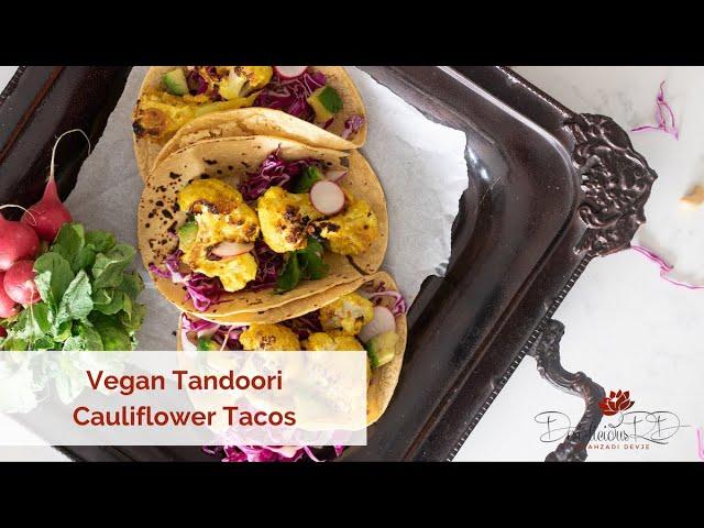 Tandoori Cauliflower Tacos