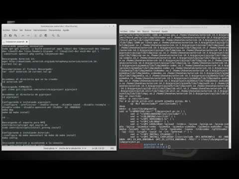 Instalación de Asterisk en linux