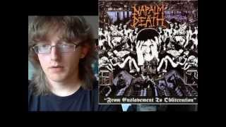 Napalm Death - Scum & From Enslavement To Obliteration Album Reviews