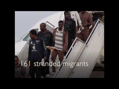 161 Guinean migrants arrive from Libya in Conakry
