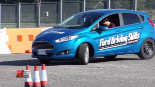 FORD DRIVING SKILLS FOR LIFE 2013 - TEST DRIVE VALLELUNGA