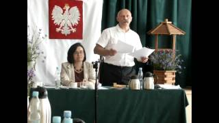 Jeziorany, sesja Rady Miejskiej, czerwiec 2013 - opinie komisji
