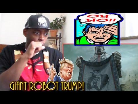 M.A.M.O.N. - Latinos VS. Donald Trump short film cortometraje REACTION!!!