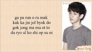 EXO-K - Don't Go (나비소녀) Easy Lyrics