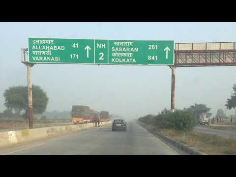 NH2  DELHI  to KOLKATA ROAD TRIP
