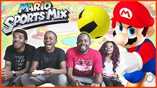 THE MOST CLUTCH DODGEBALL GAME EVER PLAYED! – Mario Sports Mix Dodgeball Wii U Gameplay