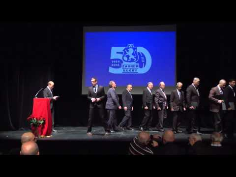 Proslava 50 godina Ragbi kluba Zagreb / Zagreb Rugby 50th Anniversary Celebration