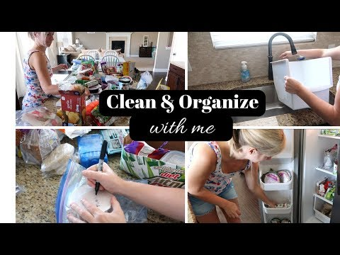 CLEAN WITH ME 2017   FREEZER CLEANING & ORGANIZATION    ORGANIZATION TIPS