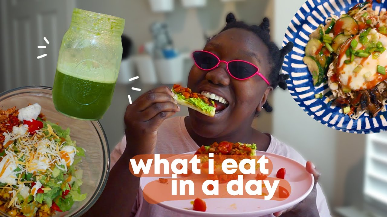 What I Eat In A Day (Easy To Make + Trying Tofu) | #SmackYoLip