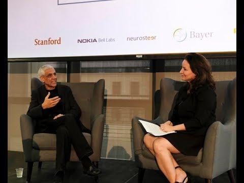 Vinod Khosla + Lisa Weiner Intrator on AI in healthcare - ApplySci @ Stanford