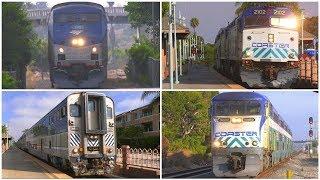 4K | Trains in Carlsbad, CA