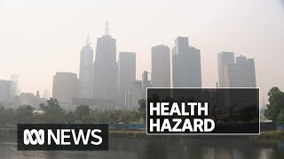 Beaches and pools closed, races cancelled as Melbourne chokes on bushfire smoke | ABC News