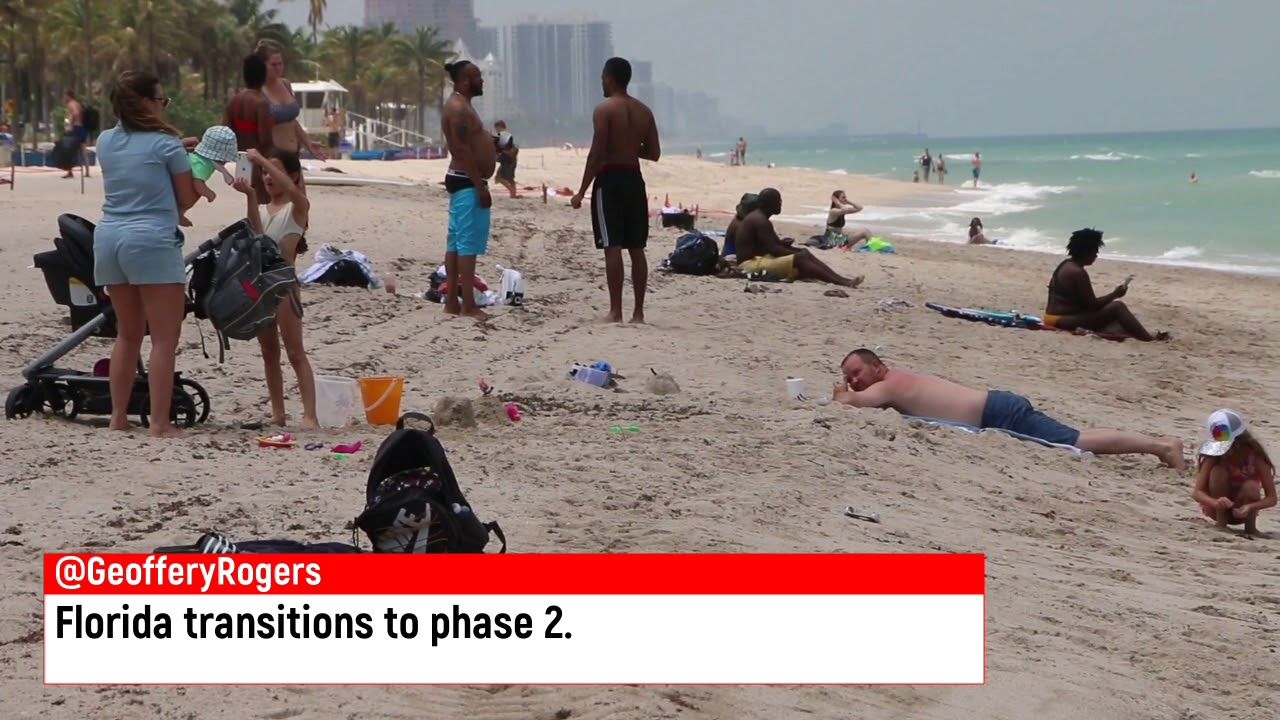 Florida transitions to phase 2.