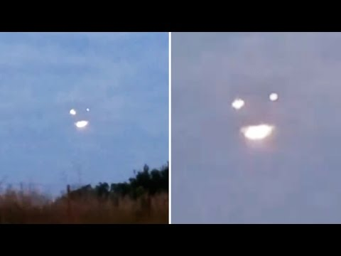 Strange Glowing UFO Lights with Changing Shape over Norwalk, Iowa - FindingUFO