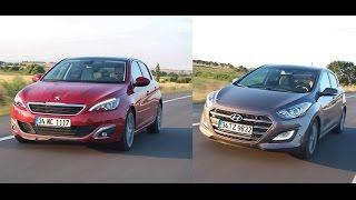 Karşılaştırma - Hyundai i30 vs Peugeot 308