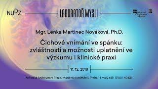 Lenka Martinec Nováková - Čichové vnímání ve spánku (ÚMKP, NUDZ 11.12.2018)