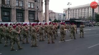 Военный парад Киев! Військовий Парад Київ з нагоди Дня Незалежності України 2018