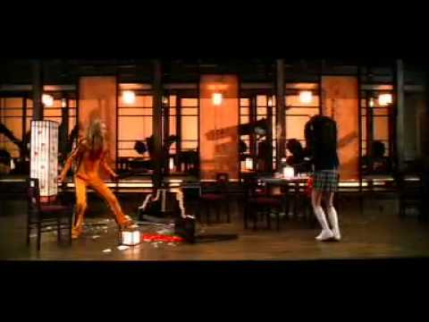 Kill bill scene black&white dress