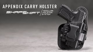 Appendix Carry Holster - AIWB Carry Made Comfortable | Alien Gear ShapeShift