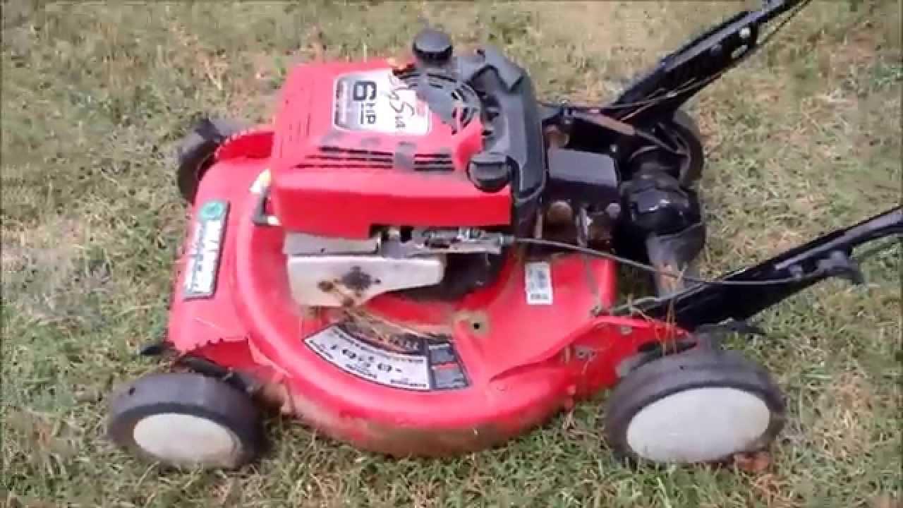 Snapper Big 6 Ninja Lawn Mower Model Rp21600 Trash