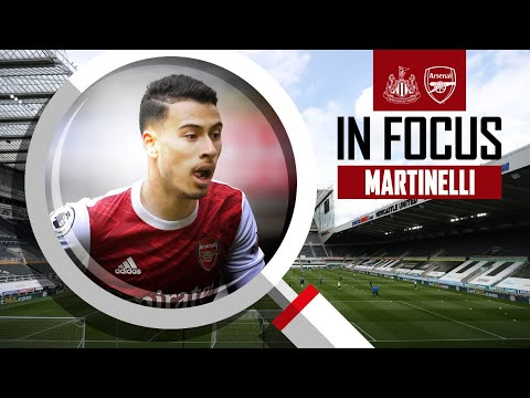 Gabriel Martinelli | Every Touch | Newcastle Utd vs Arsenal (0-2) | Premier League