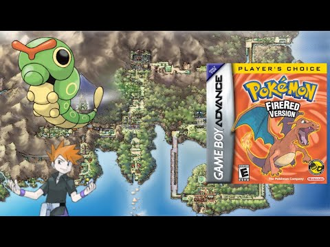 Can You Beat Pokemon Fire Red Only Using One Caterpie? (NO ITEMS!)