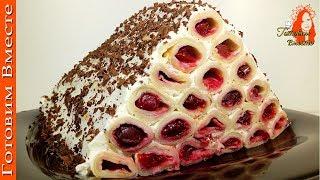 """Торт """"Монастырская Изба"""" из блинов.Просто и со Вкусом!"""