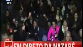 NAZARÉ PASSAGEM DE ANO 2014-15 CMTV 5º DIRETO
