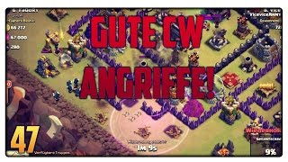 Let´s Play Clash of Clans #47 [GER] | Gute Clanwar Angriffe! Knappes Ding! | Vicevice