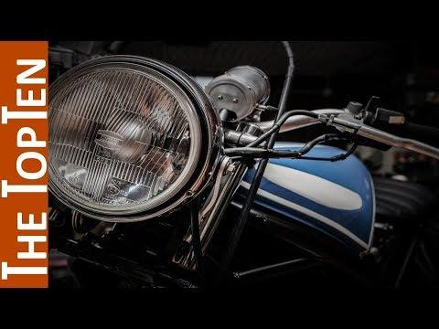 The Top Ten Coolest Classic Motorcycles (Part 2)