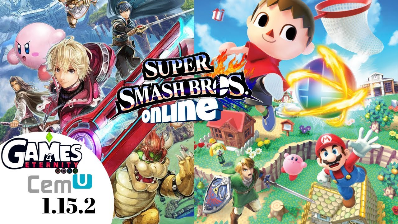 Cemu 1 15 2 Super Smash Bros Wii U 60fps 4k | Completamente jugable |  Online mode