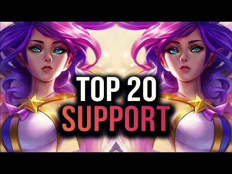 Top 20 SUPPORT Plays #02 | League of Legends