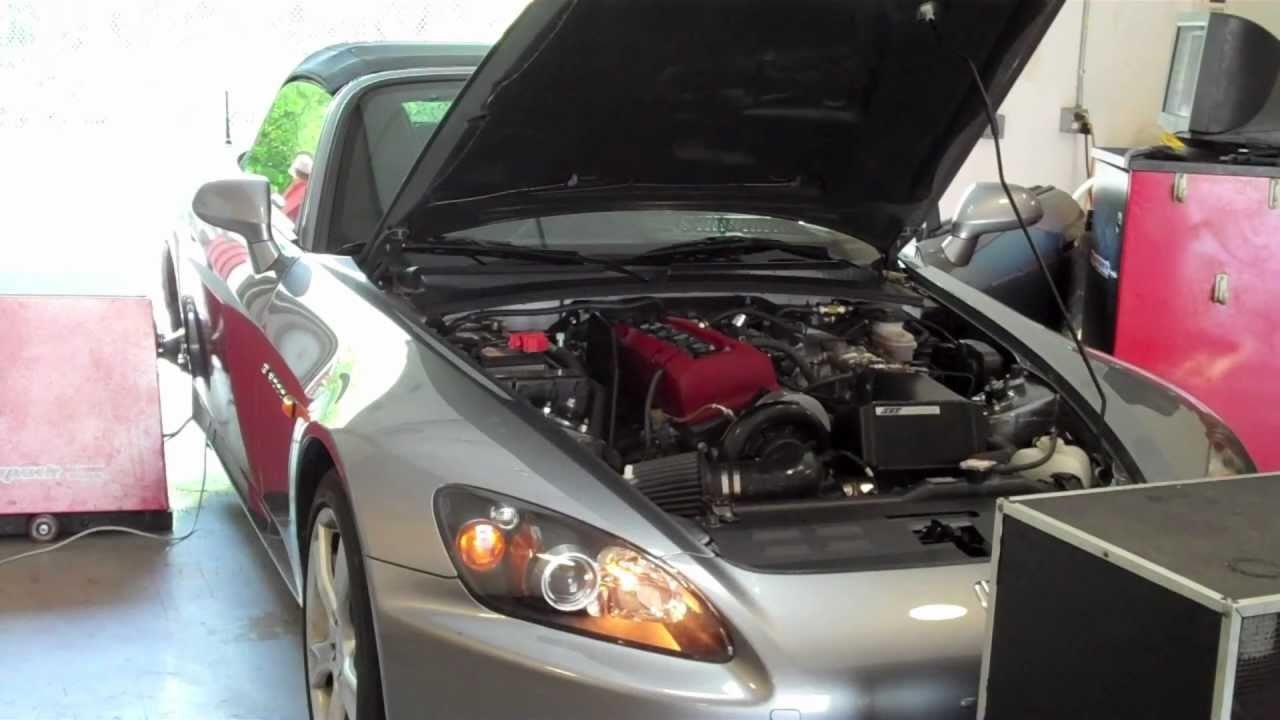Honda S2000 Sos Supercharger Kit 520whp 330tq Hondata Flashpro Dyno Video
