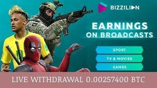 BIZZILION PTY LTD отзывы 2019, mmgp, платит, Live Withdrawal 0.00257400 BTC