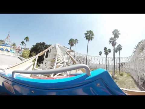 California Screamin in 360 at Disney California Adventure Park at Disneyland!
